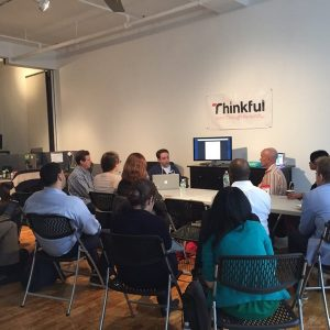 Thinkful group meeting
